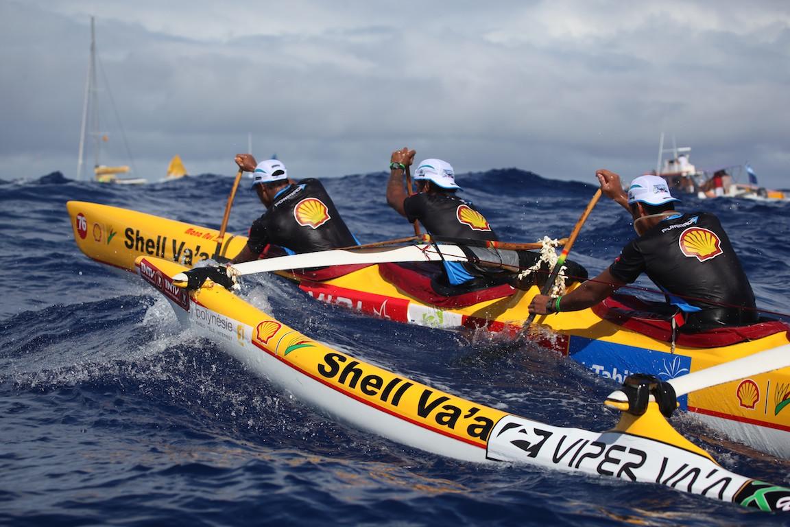 Hawaiki Nui Va'a: Shell remporte la deuxième étape