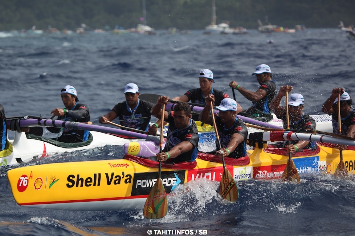 Après sa victoire à Moloka'i, Shell Va'a obtient une belle 2e place à Hawaiki Nui