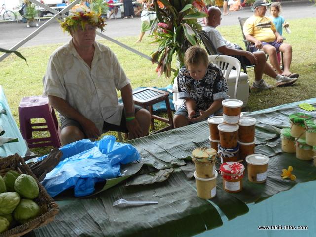 Terai Fabre Giannet présentait ses chutneys, un régal pour les papilles