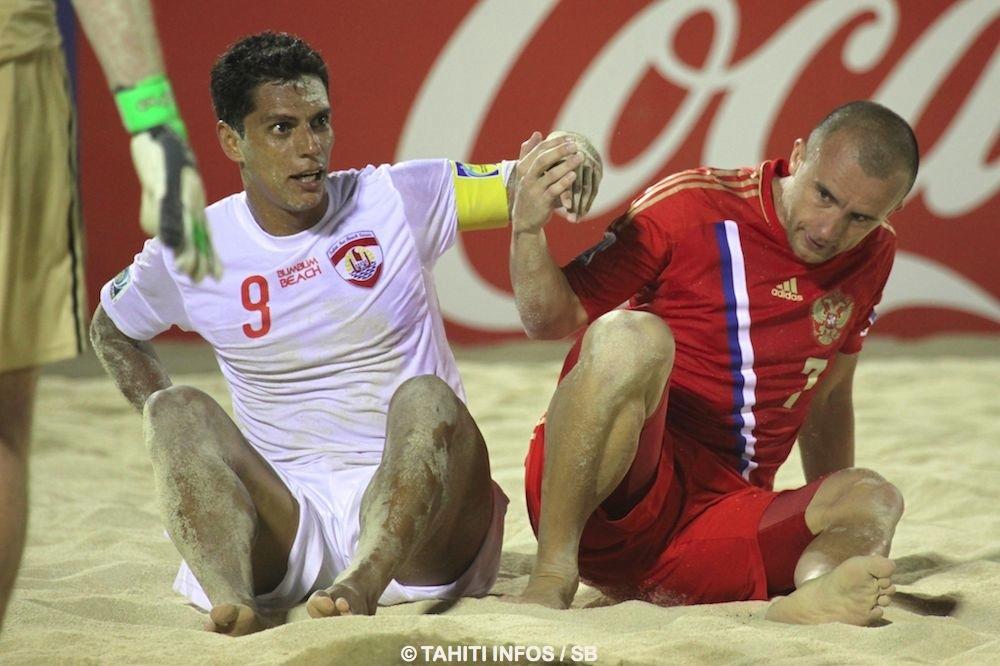 Les Russes avaient éliminé Tahiti en 2013