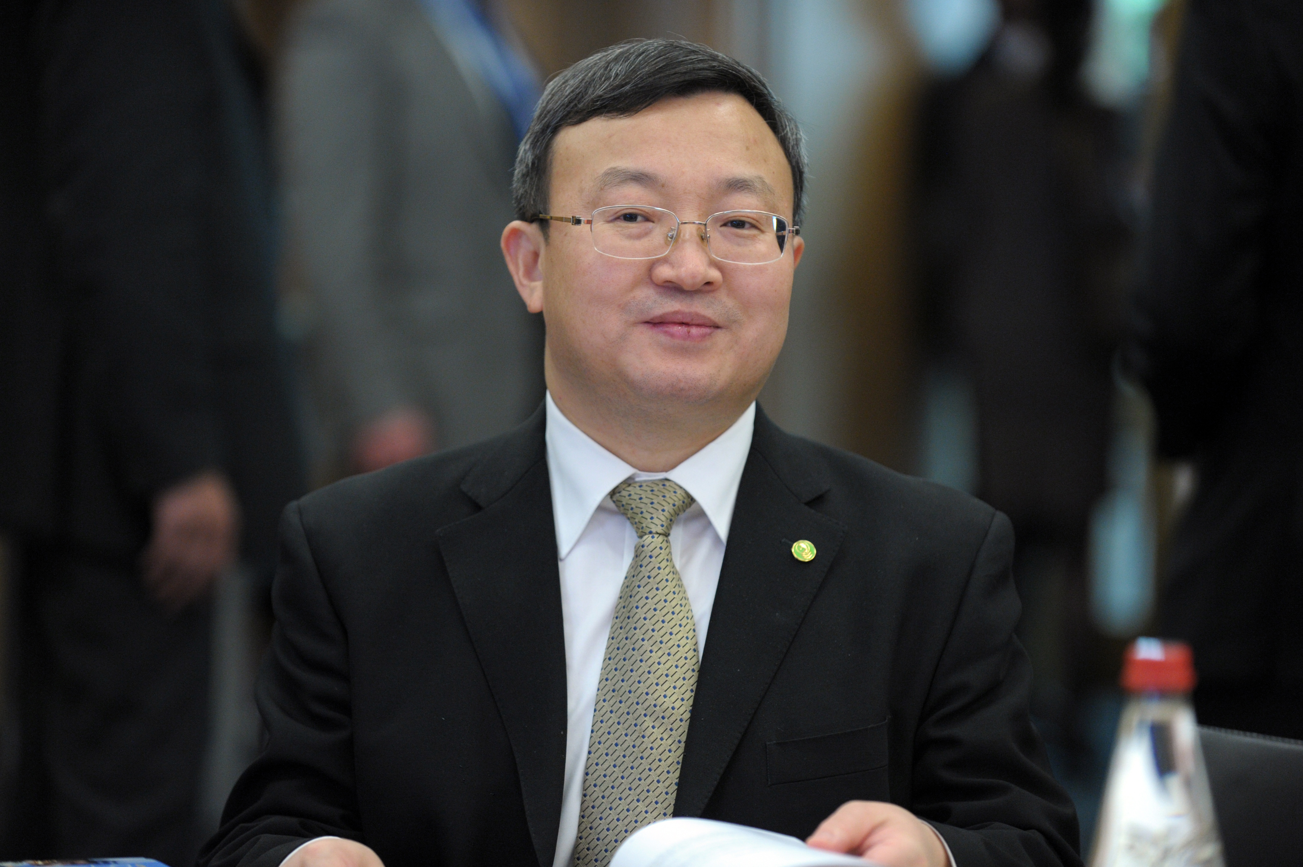 Wang Shouwen, le vice-ministre chinois du Commerce