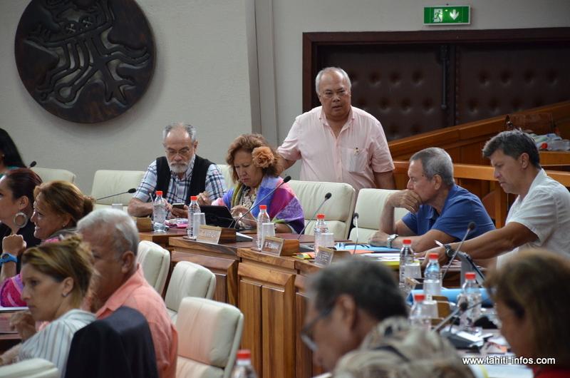 Assemblée : Rudolph Jordan se rétracte et reste au Tahoera'a