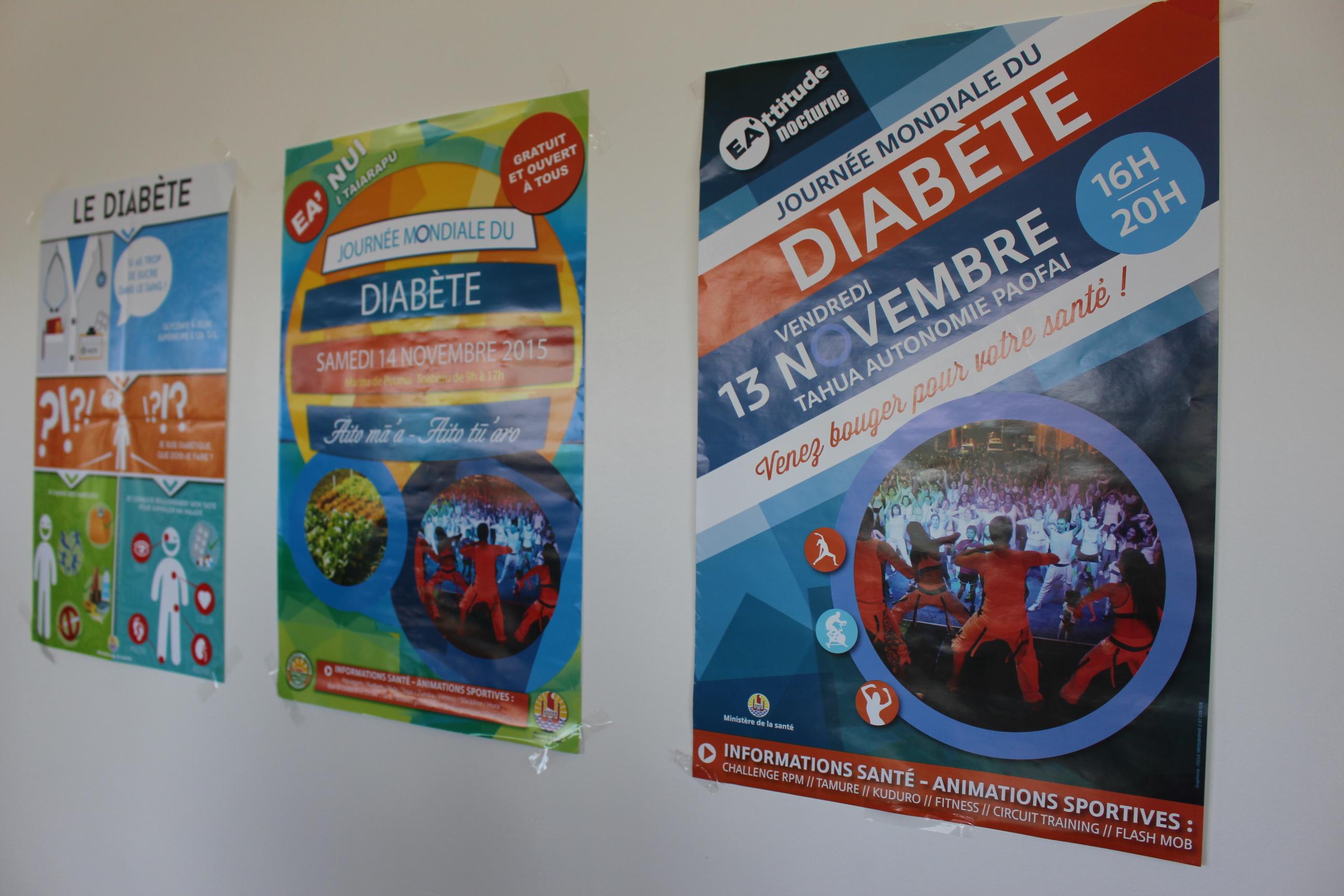 """Diabète : deux journées """"mondiales"""" à Tahiti"""
