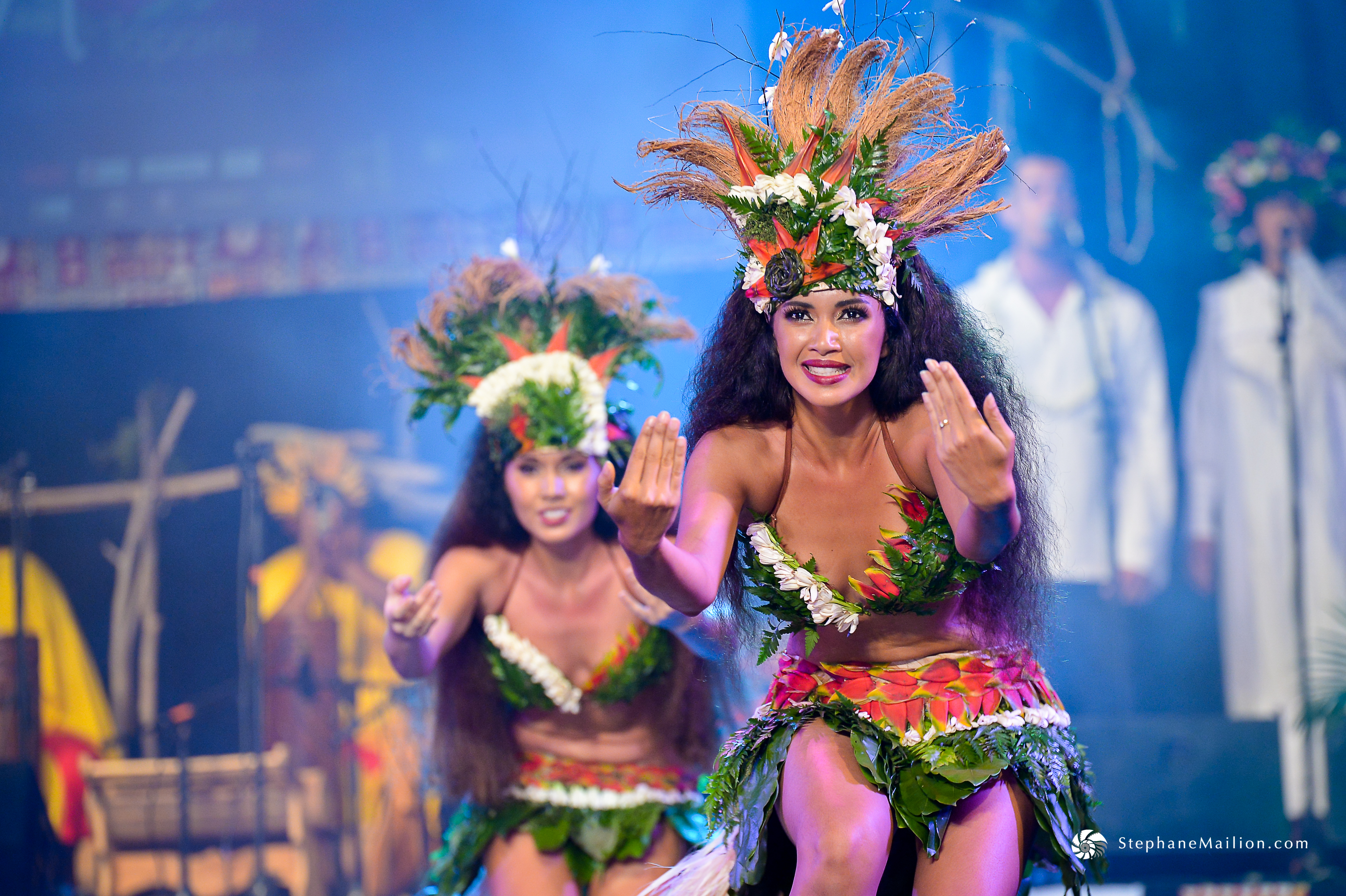Le Hura Tapairu est devenu un événement culturel incontournable. Ici le groupe Manohiva.
