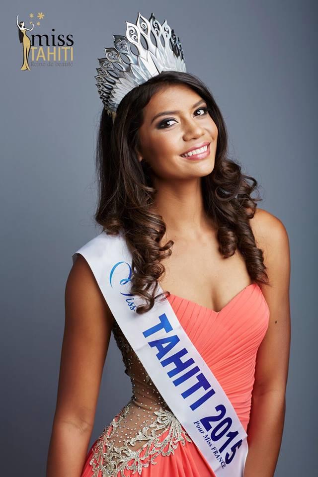 "A Paris, Miss Tahiti 2015 ""choquée"" mais solidaire après les attaques terroristes"