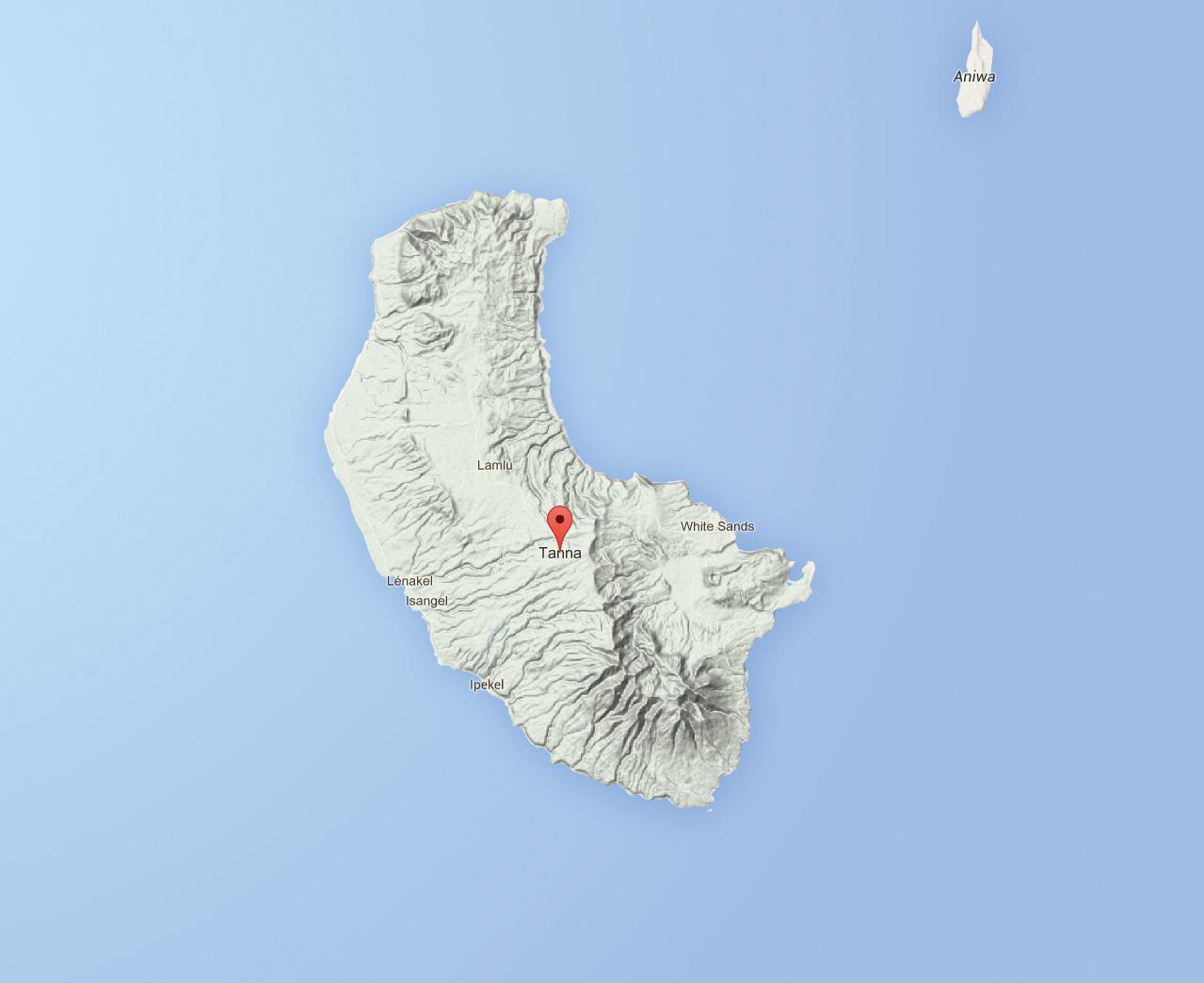 Regain d'activité pour le volcan de Tanna