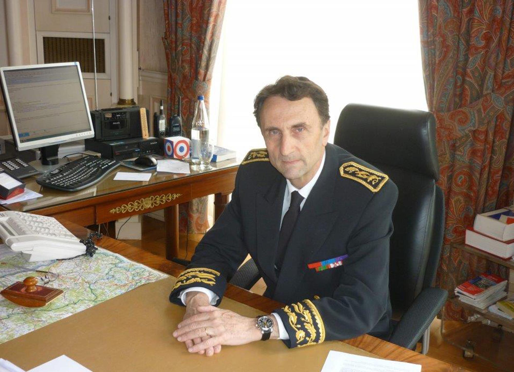 Vincent Bouvier, haut-commissaire de la République en Nouvelle-Calédonie.