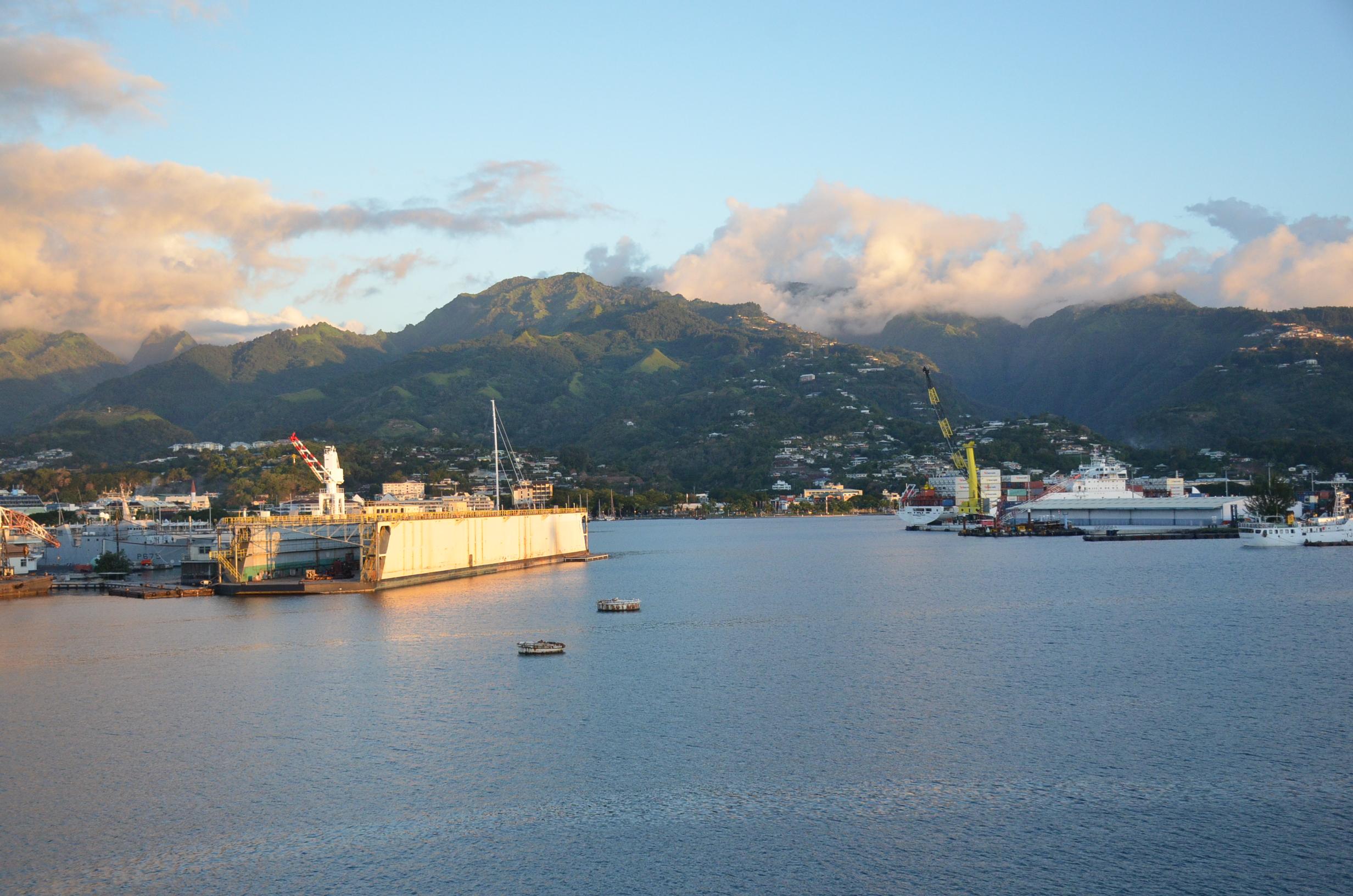 """""""L'avenir de la Polynésie Française c'est la mer"""""""