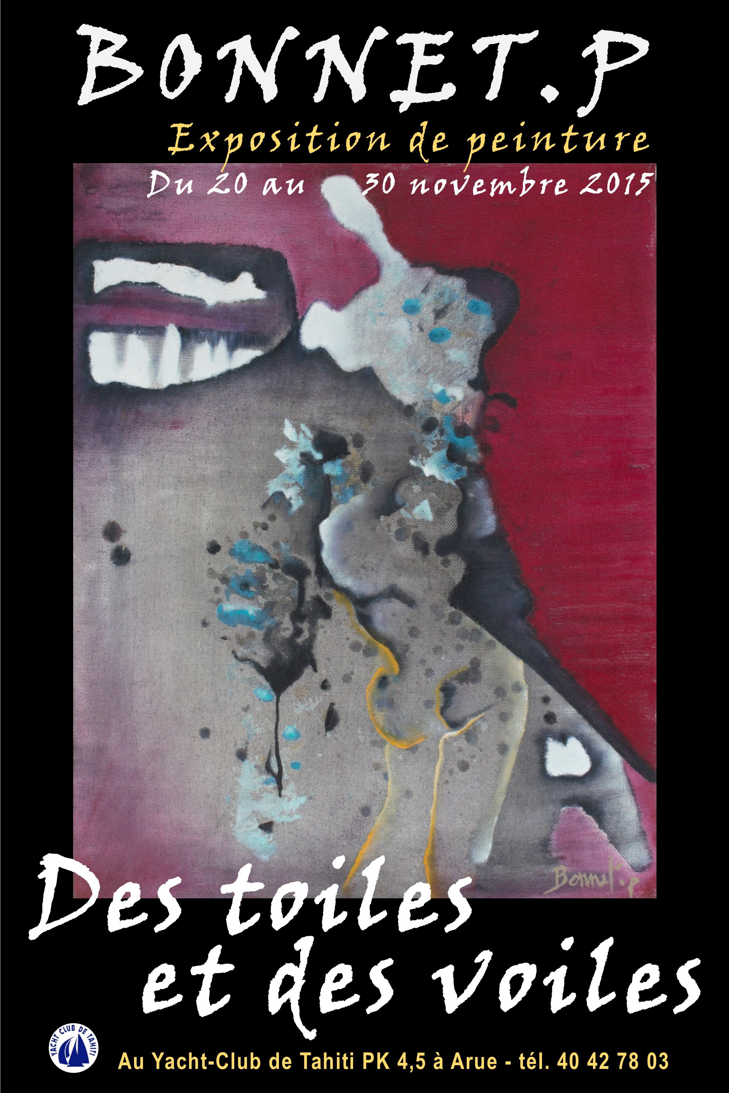 """""""Des toiles et des voiles"""" de Patricia Bonnet"""