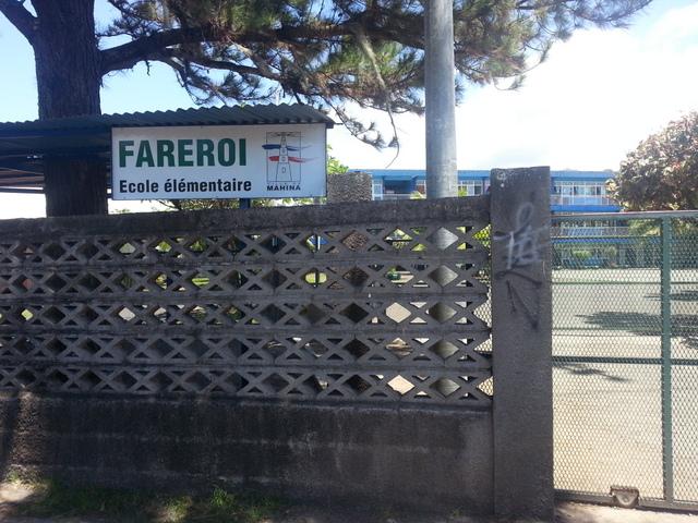 Mahina : une fillette blessée par la chute du portail métallique de l'école Fareroi