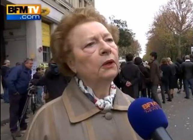 Attentats: le message de fraternité d'une retraitée parisienne émeut les internautes