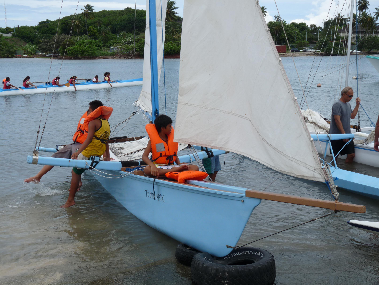 Des activités traditionnelles, comme la pirogue à voile, seront proposées au public.