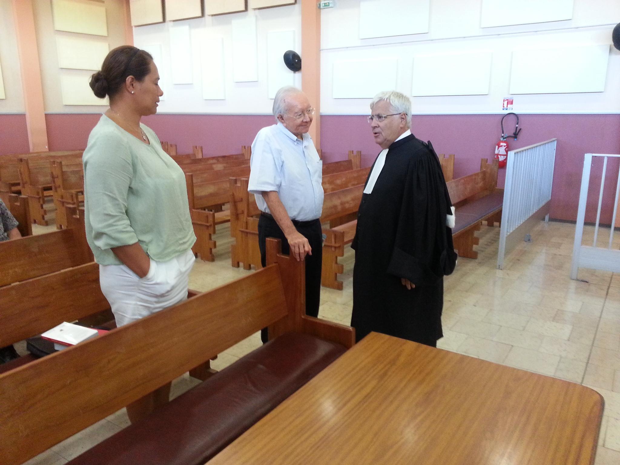 Le délibéré sera rendu le 25 février 2016 dans cette affaire qui pourrait voir la peine d'inéligibilité de Gaston Flosse aggravée.