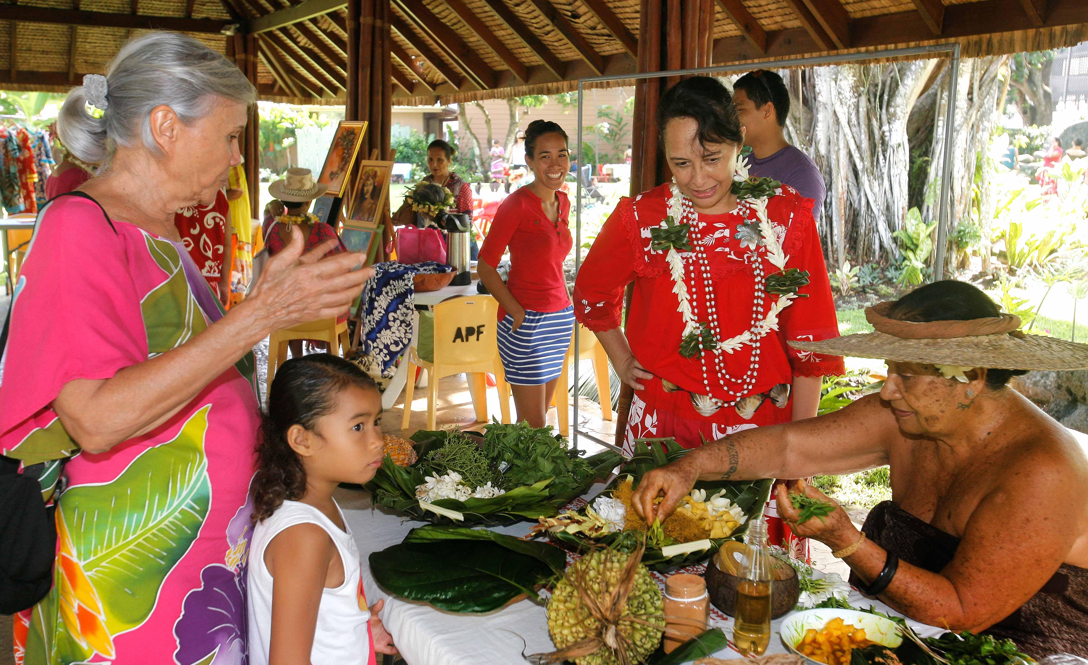 La ministre de la condition féminine, Tea Frogier a inauguré cette 3ème édition