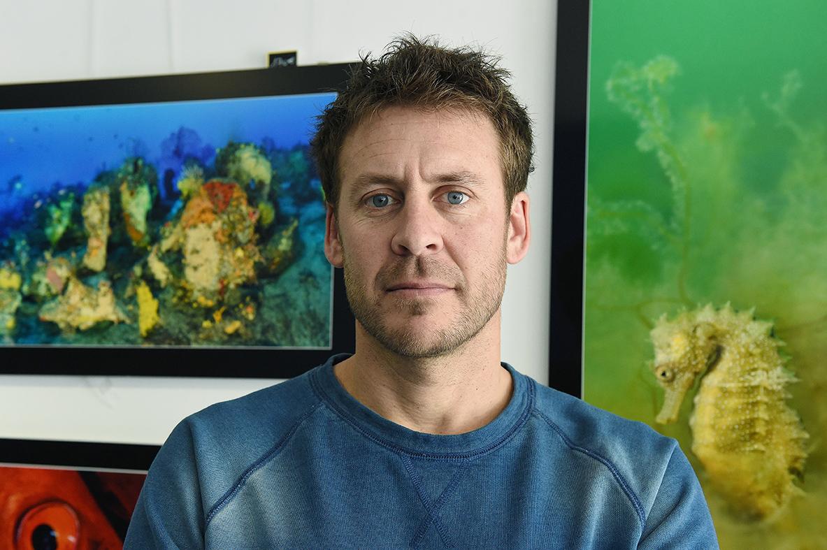 """Dans """"Le mystère mérou"""", le biologiste/plongeur/photographe Laurent Ballesta part à la découverte des abysses polynésiens pour tenter de percer le mystère de la reproduction des mérous."""