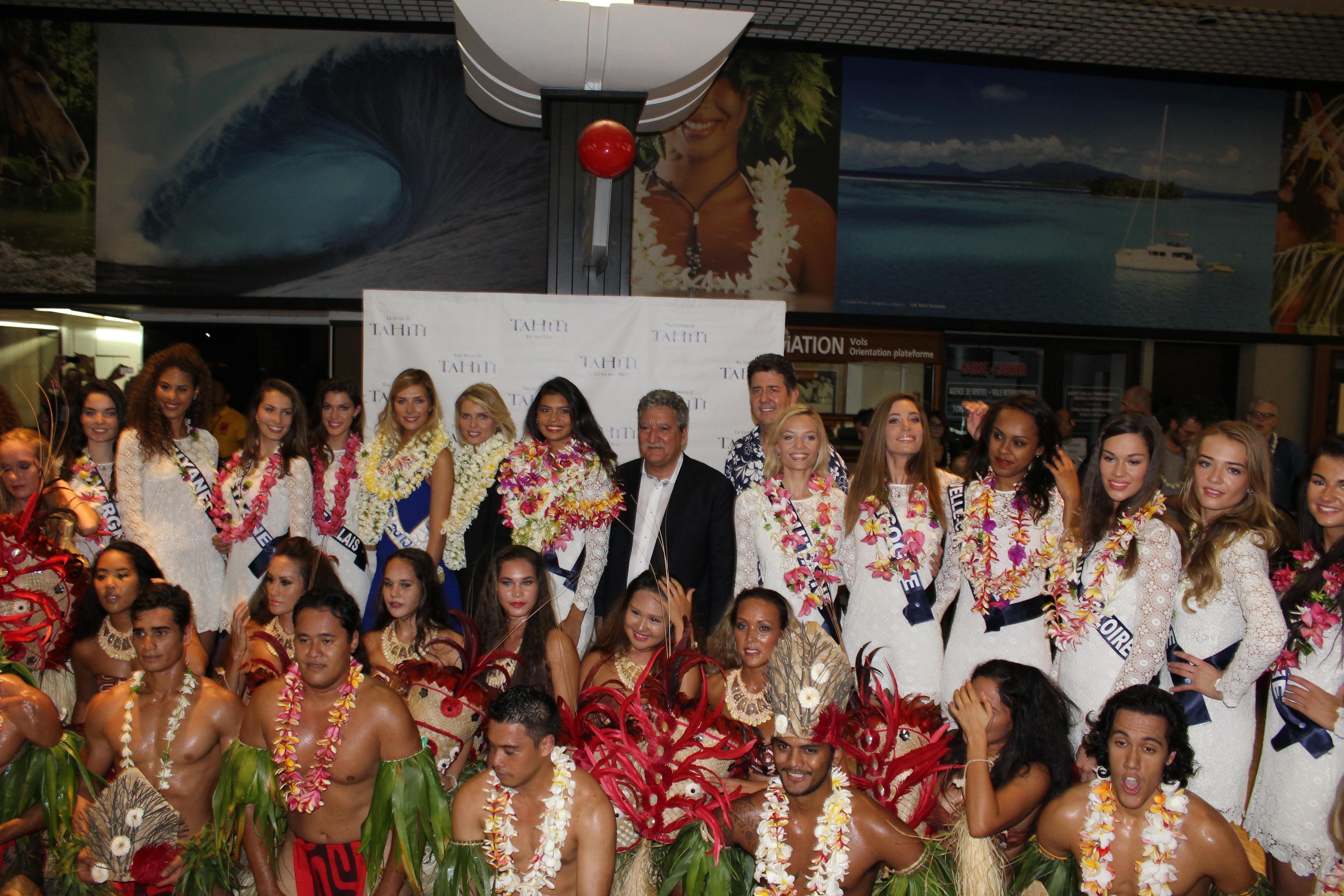 Miss France 2016 : elles sont chez nous, à Tahiti !