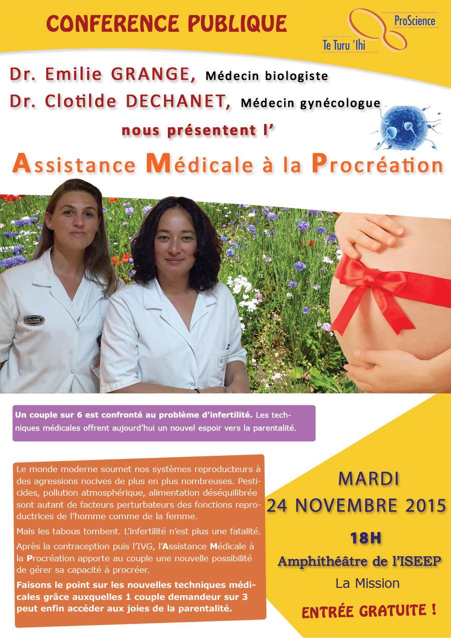 Une conférence pour mieux comprendre l'assistance médicale à la procréation