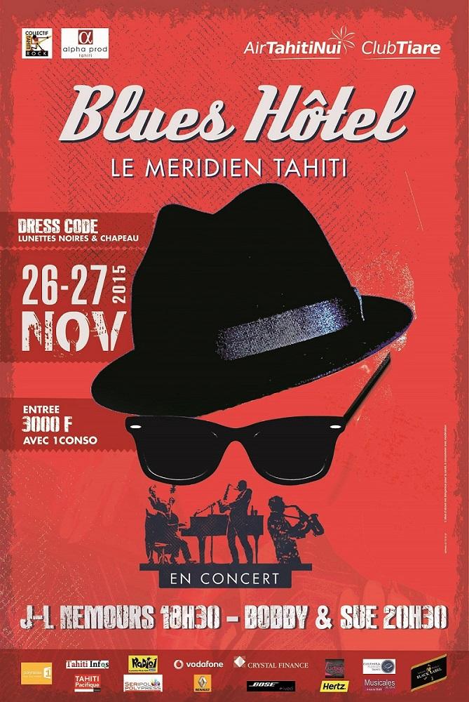 """""""Blues Hôtel"""" : deux concerts jeudi et vendredi"""