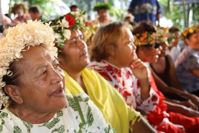 En 2013, l'espérance de vie en Polynésie française était de 76 ans contre 53 ans en 1952.