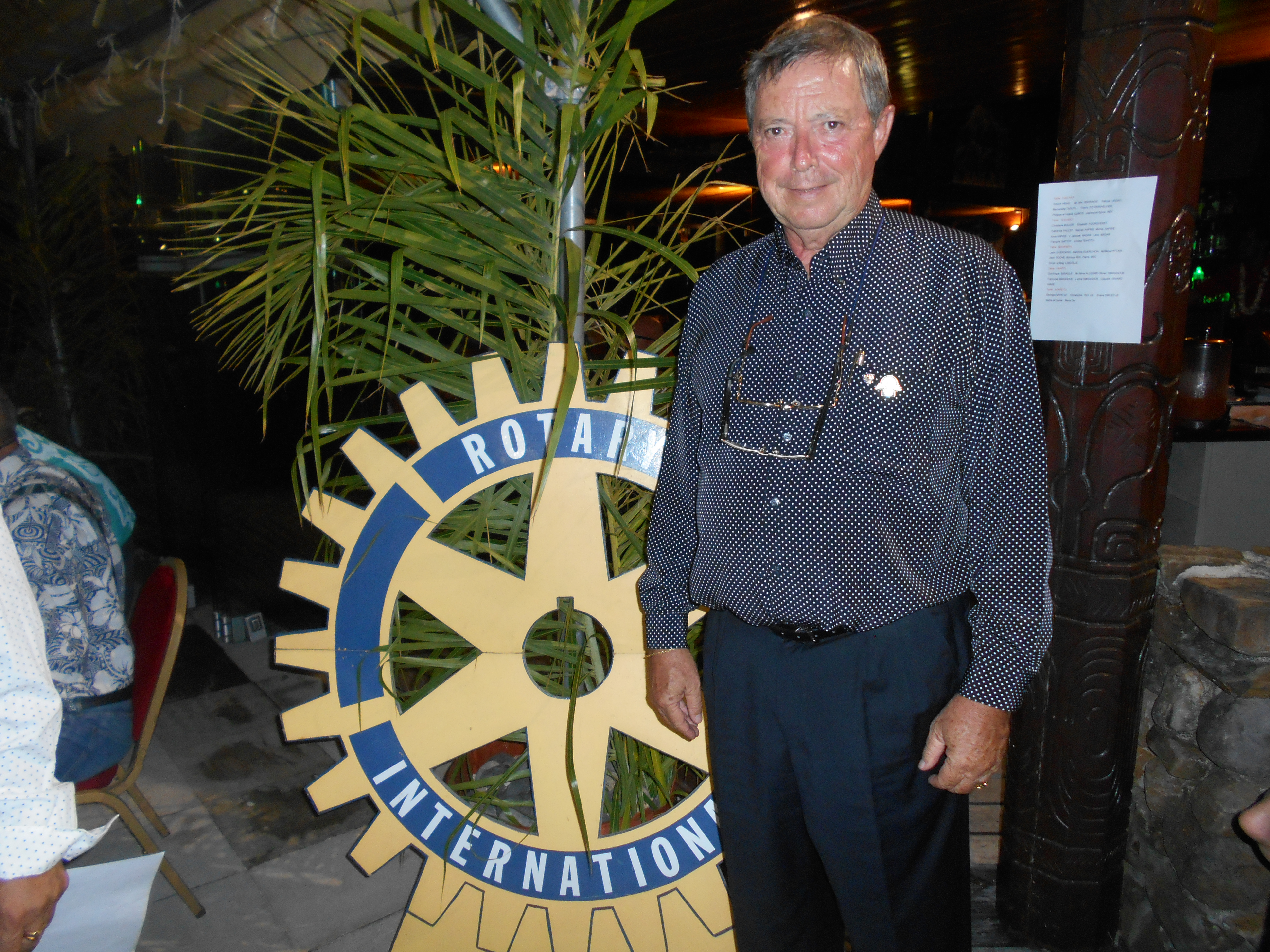 Pour les dix ans d'existence du Rotary à Moorea, le club a invité la population afin de leur dresser un bilan de leurs actions menées sur l'île.