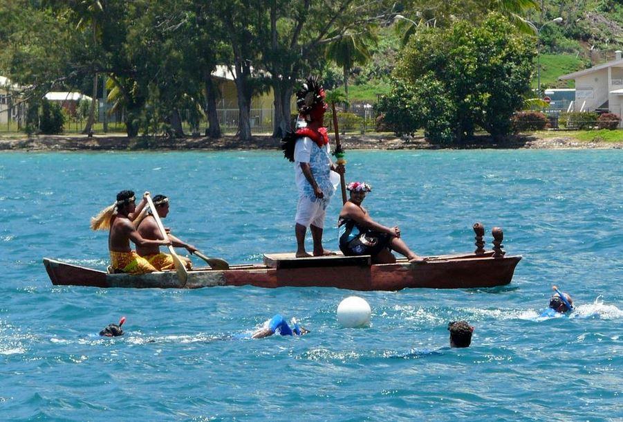 L'an dernier, le Rotary club a levé des fonds pour lutter contre le diabète, en organisant la traversée Tahiti-Moorea à la nage.
