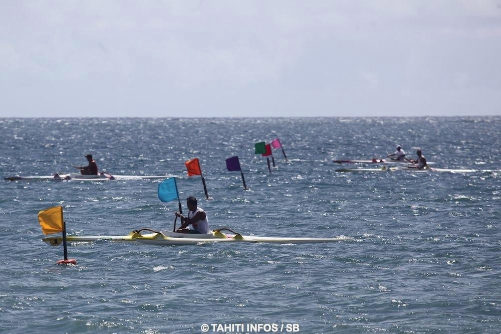 Les championnats de Polynésie de Va'a de vitesse sont qualificatifs pour les championnats du monde qui se dérouleront en Australie
