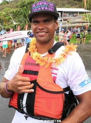 Hiromana Florès, le rameur de Shell est également un champion de kayak