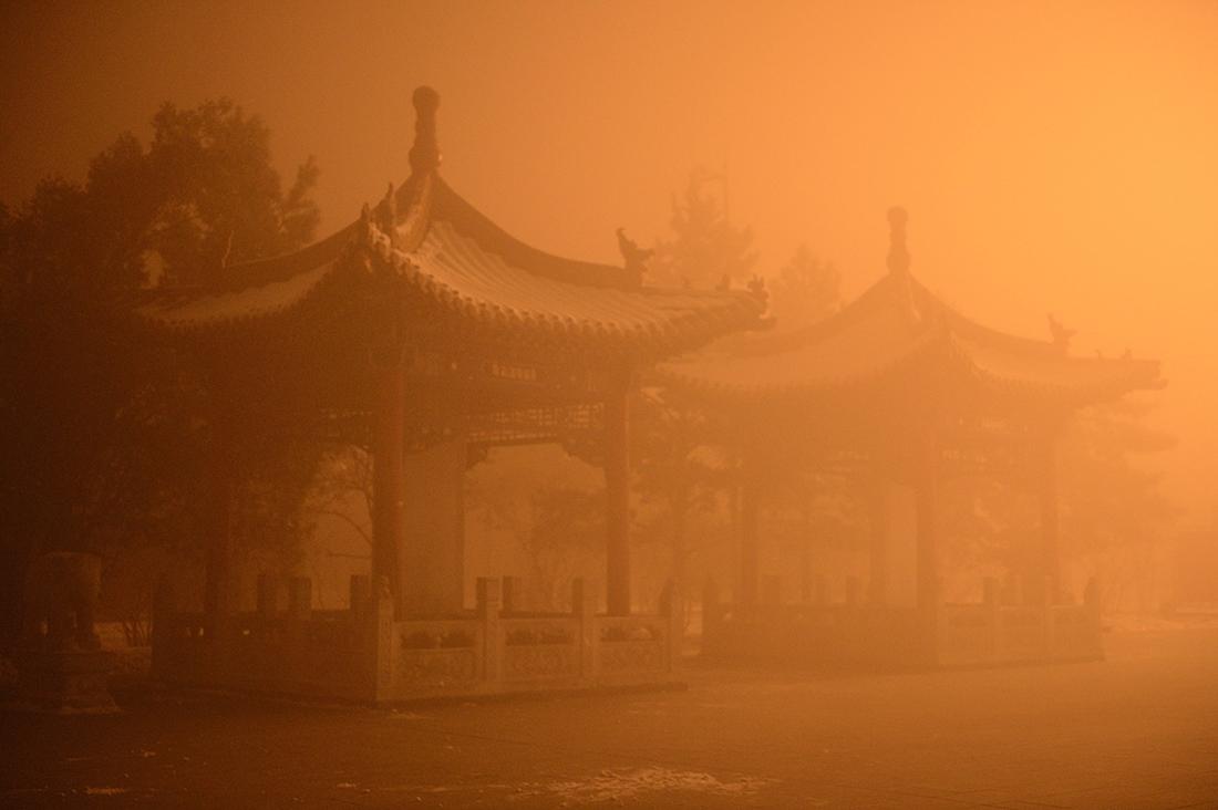 Pollution: Pékin suffoque
