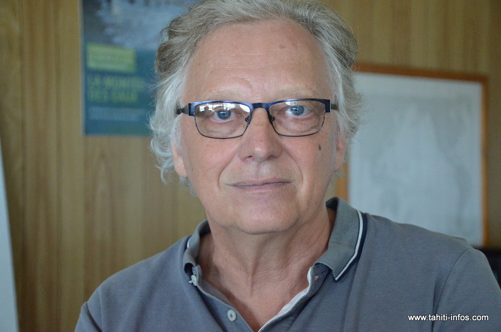 Bertrand Grassi, le chef prévisionniste de l'antenne Météo-France de Tahiti-Faaa.
