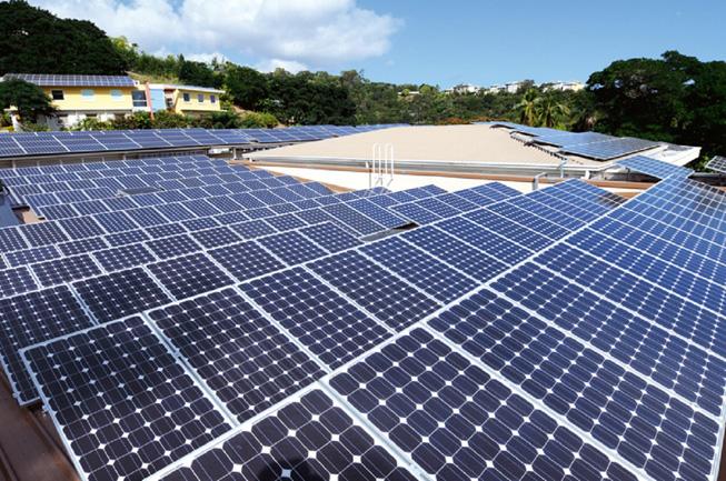 Le choix du solaire certains, avant le Pays l'ont fait depuis longtemps ! C'est le cas notamment de la direction de l'enseignement catholique à Tahiti qui a équipé d'un total de près de 800 panneaux photovoltaïques  tous ses grands bâtiments.