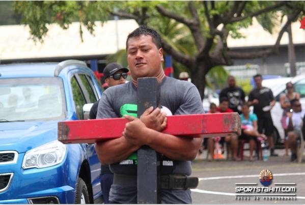 Strongest Man : Eriatara Ratia conserve son titre de l'homme le plus fort de Polynésie