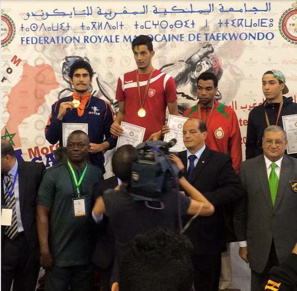 TKD « Open du Maroc » : Waldeck Defaix récolte l'argent