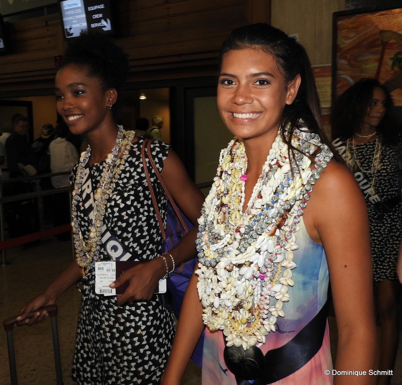 """Miss France : les 31 perles chantent """"Manava"""" avant de s'envoler"""