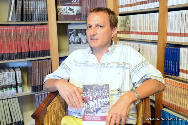 """""""La colonisation, toujours d'actualité"""" selon Bruno Saura"""