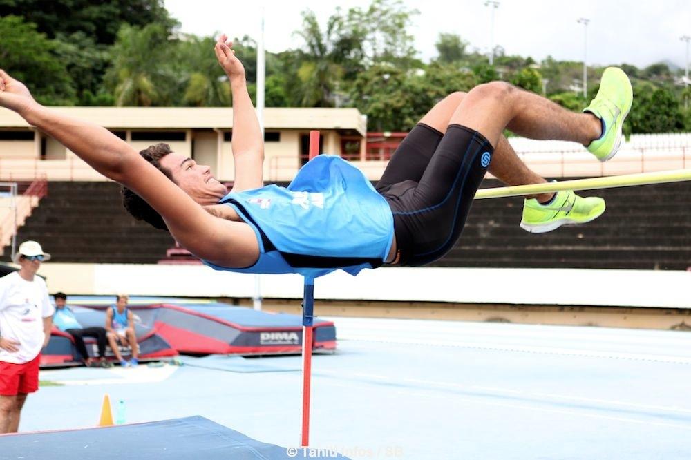 Teura Tupaia est déjà un athlète d'exception