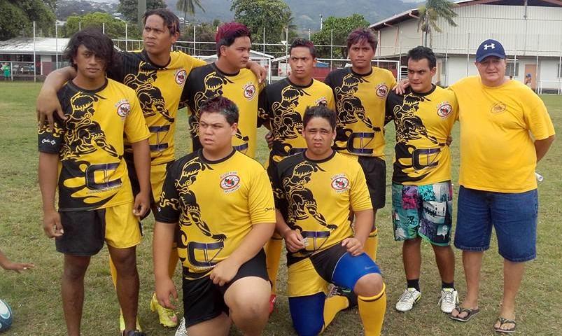 Les U18 de Taputapuatea Rugby