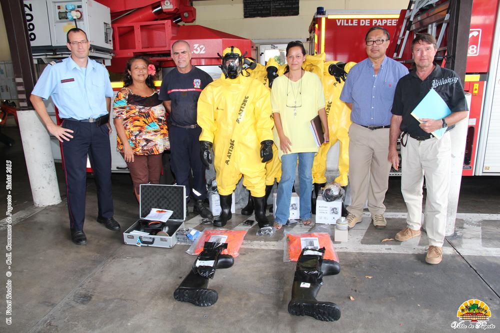 Pompiers : du matériel spécifique pour les interventions à risques