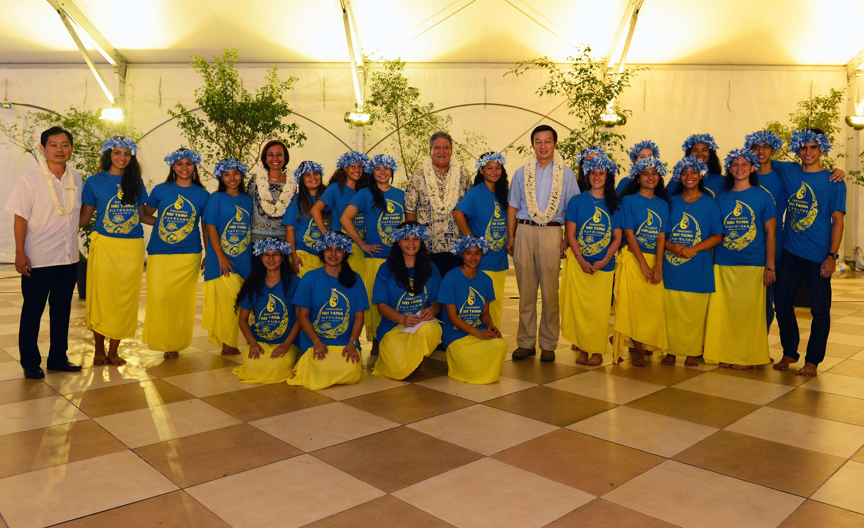 20 lycéens polynésiens partent en voyage linguistique en Chine