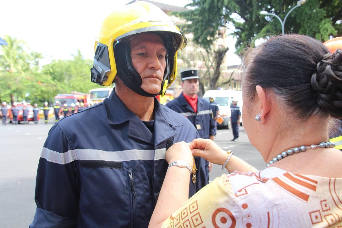 Sainte Barbe : les pompiers à la fête