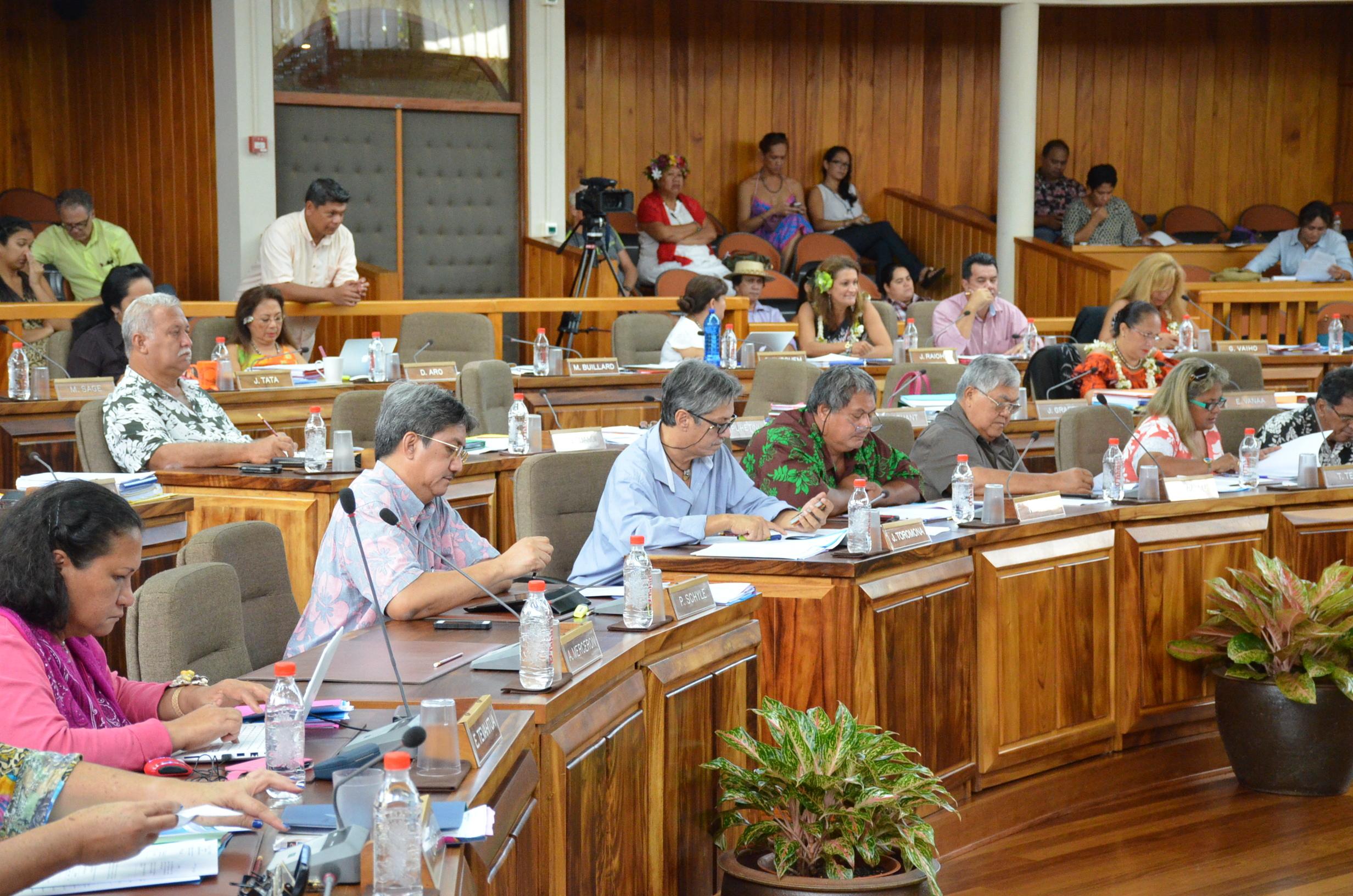 La collectivité prévoit de consacrer près de 2,2 milliards Fcfp pour le fonctionnement de l'Assemblée territoriale en 2016.