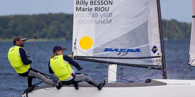 Billy Besson/Marie Riou (Nacra 17) Marin(s) de l'année 2015