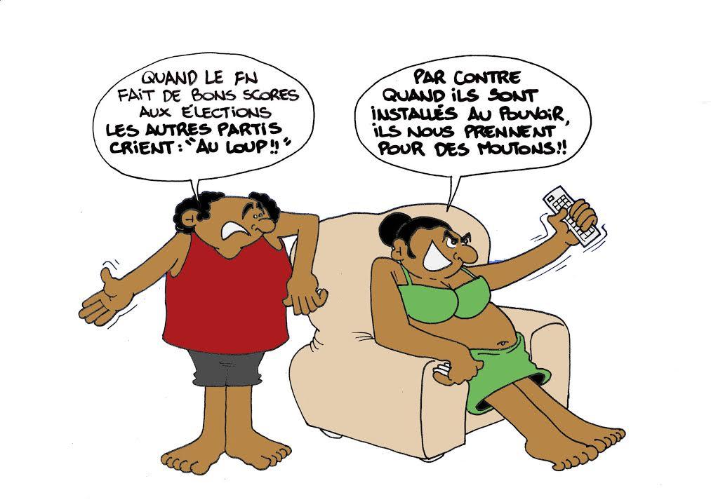 """""""Les régionales"""" par Munoz"""