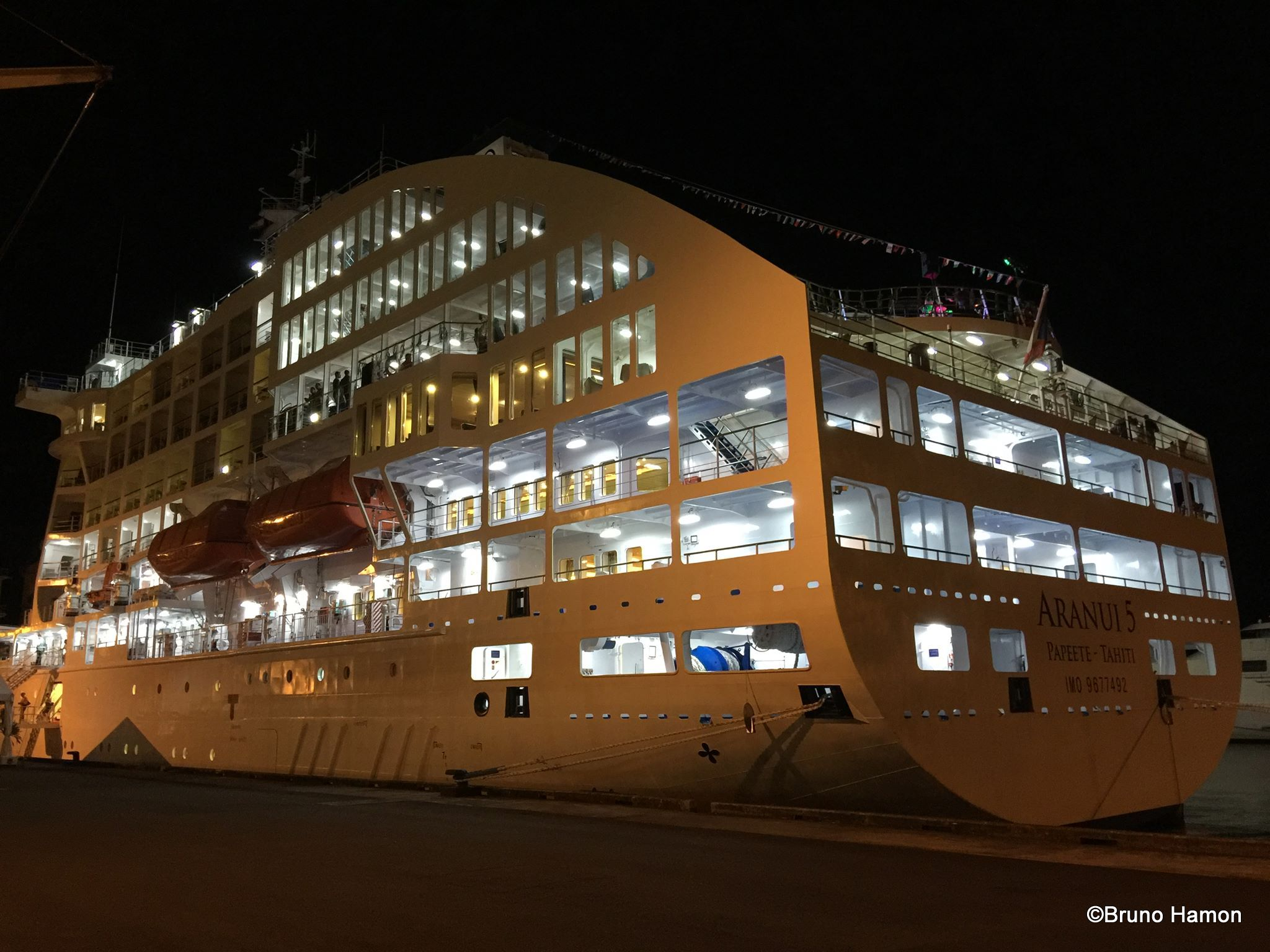 Aranui 5 inauguré en grande pompe