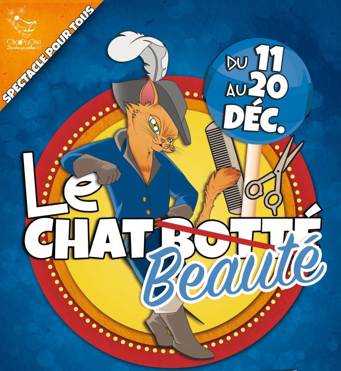 """""""Le Chat Beauté !"""" s'invite au Petit Théâtre"""