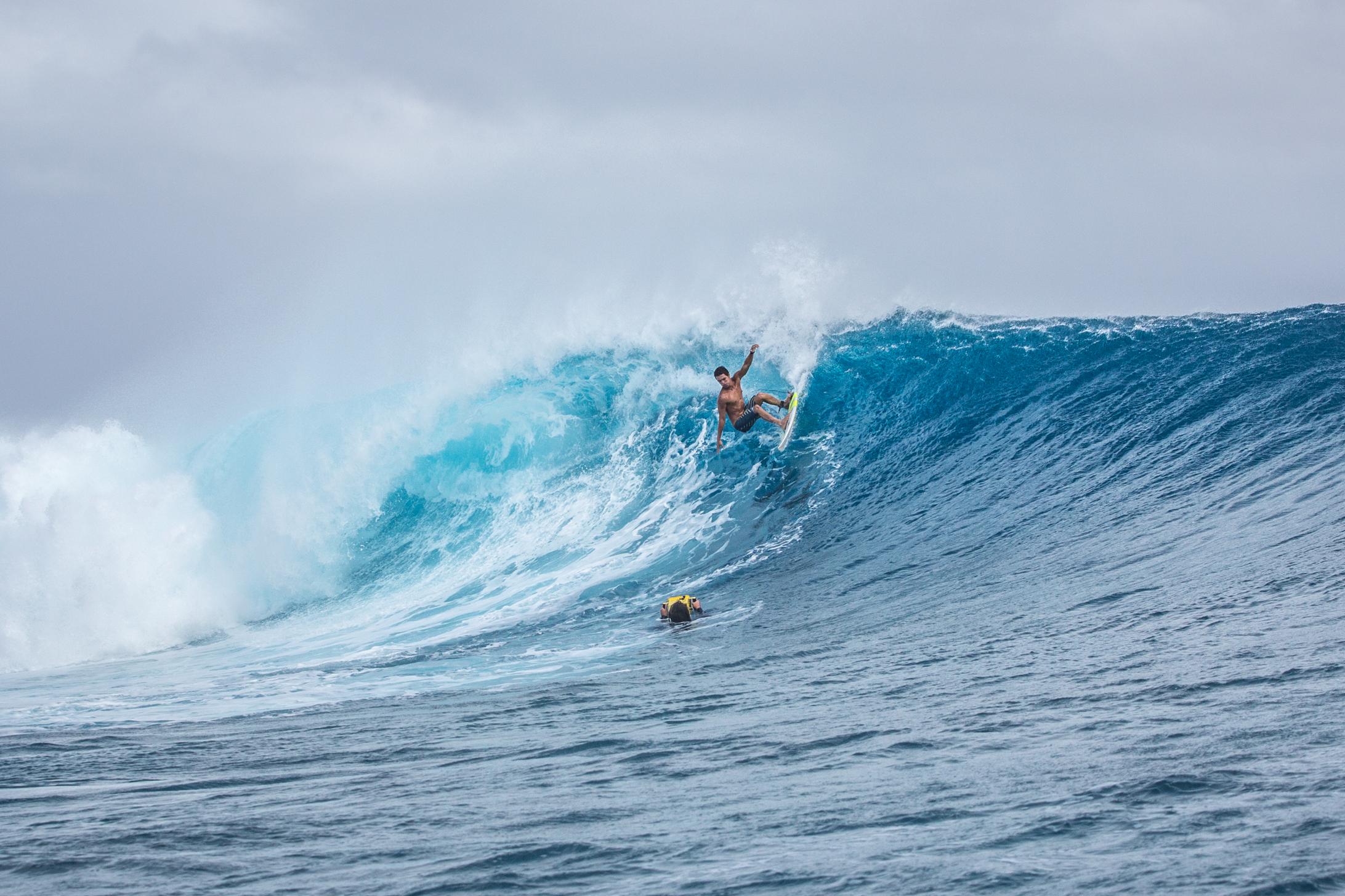 À l'instar de Mateia Hiquily (notre photo), les Polynésiens sont encore largement à l'honneur.