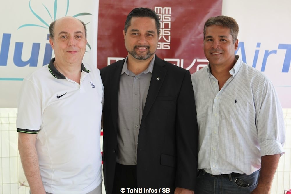 Michel Daum, Ethan Lake et Johann Bouit
