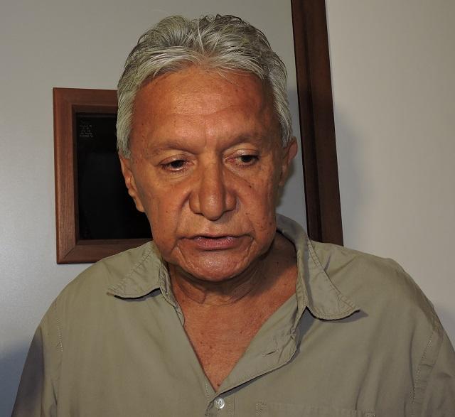Roland Oldham, président de Moruroa e Tatou