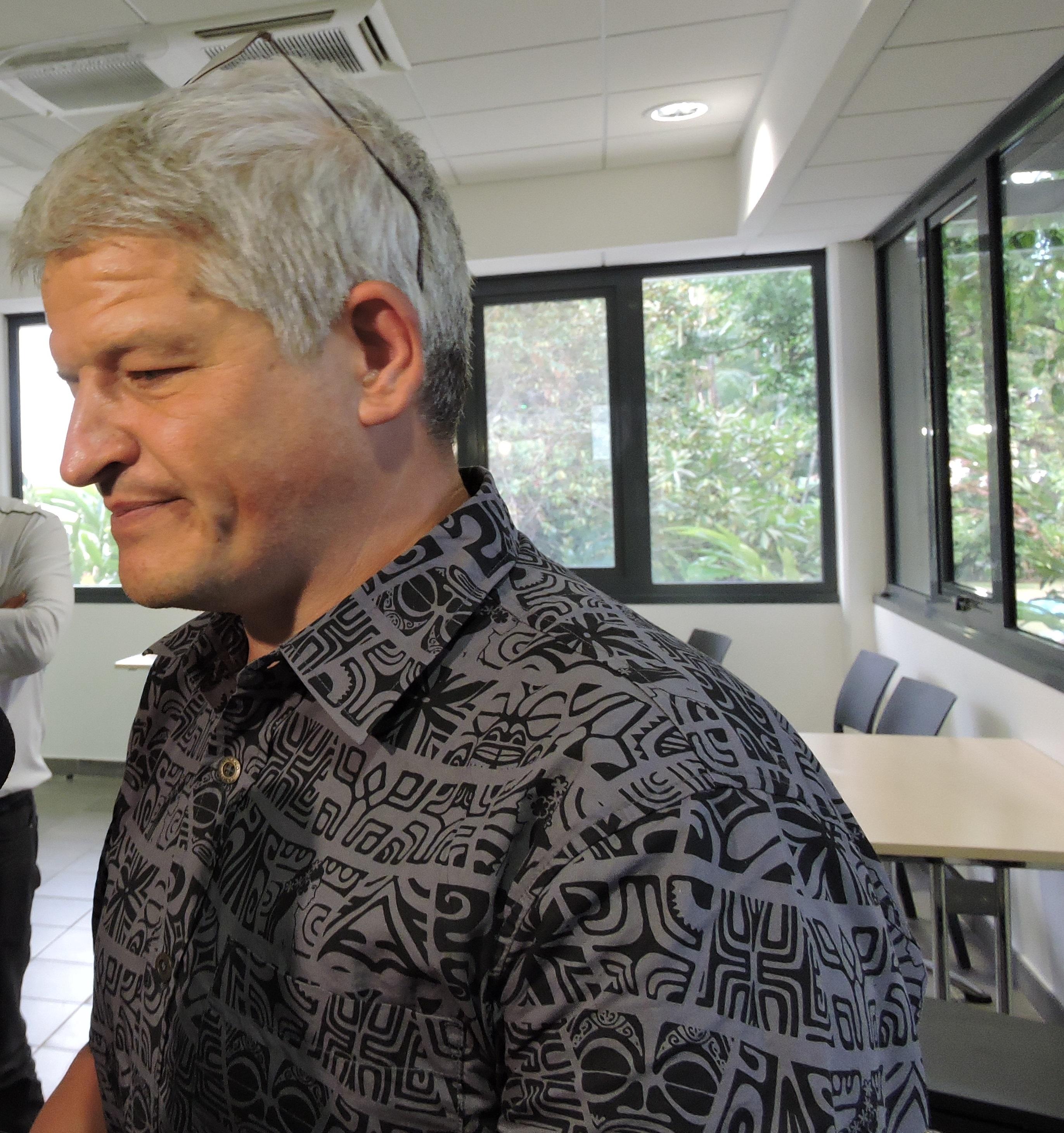 Guillaume Manificat, chef du Service d'étude et de surveillance de l'environnement, expert de l'IRSN.