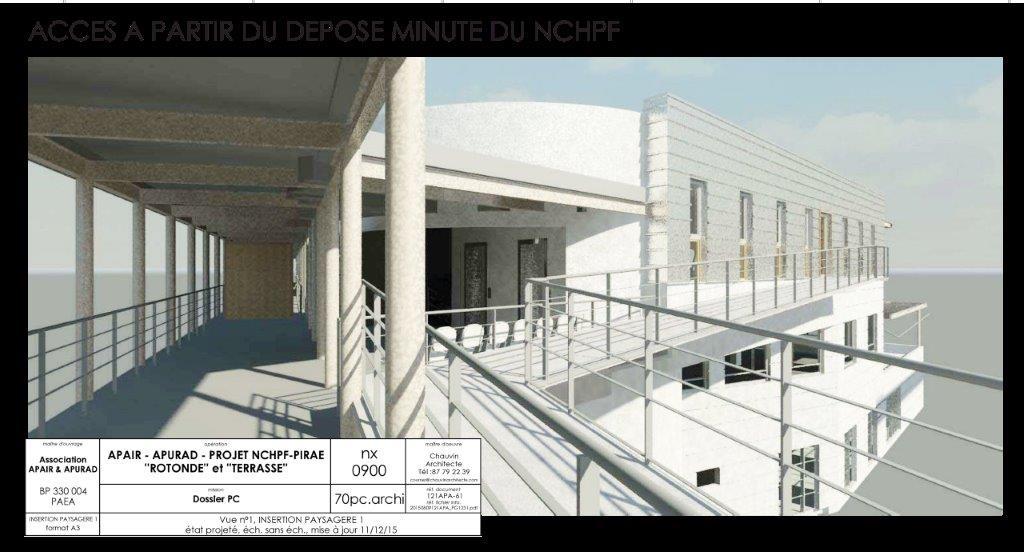 La rotonde du CHPF sera dédiée aux associations Apair et Apurad