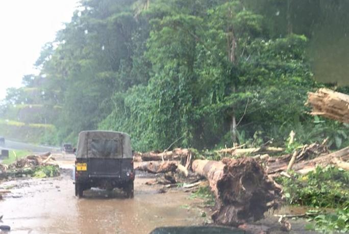 Fortes pluies : la vallée de Onohea évacuée, une personne portée disparue (bilan et photos)